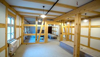 Stand der Innenausbauarbeiten der Schauwerkstätten