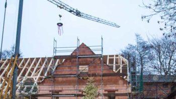 Permalink zu:Eindrücke vom Richtfest des Schauwerkstätten-Gebäudes