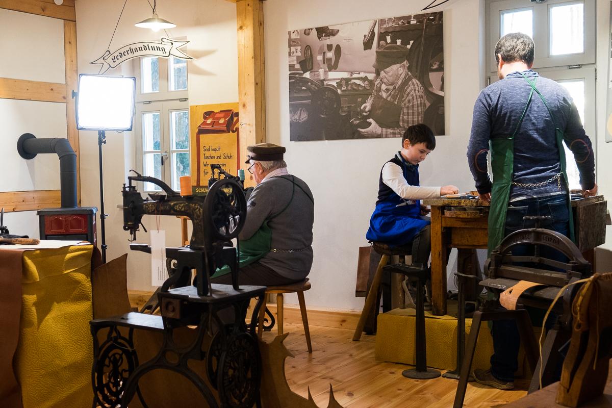 Fernsehaufnahmen in Schauwerkstatt