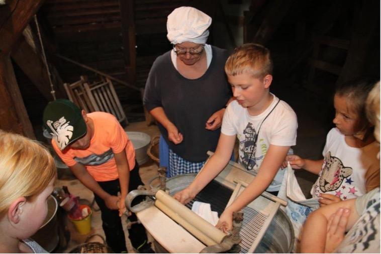 Wie Grundschulkinder die Obermühle erleben